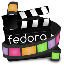 Fedora Video logo by Gnokii
